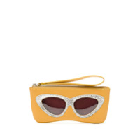 Sarah Chofakian Porta Óculos Gatinho - Amarelo