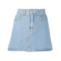 Chiara Ferragni Saia Jeans Slim - Azul