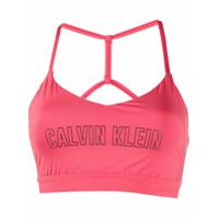 Calvin Klein Top Esportivo - Vermelho