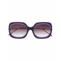 Matsuda Óculos De Sol Quadrado M2035 - Roxo