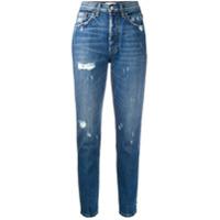 Boyish Jeans Calça Jeans Slim Billy Cintura Alta - Azul