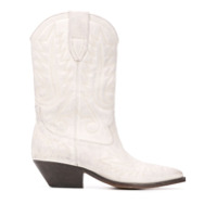 Isabel Marant Ankle Boot Duerto Texan - Branco