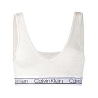 Calvin Klein Underwear Sutiã Com Logo - Cinza