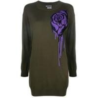 Boutique Moschino Vestido Floral - Verde