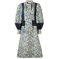 Tory Burch Vestido Midi Com Estampa Floral - Estampado