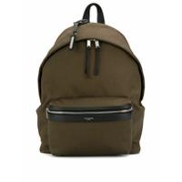 Saint Laurent City Backpack - Verde