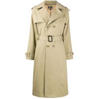 A.p.c. Trench Coat Simone Com Abotoamento Duplo - Neutro