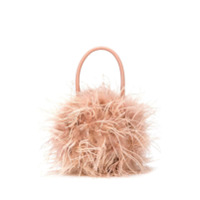 Loeffler Randall Zadie Feather Tote - Neutro