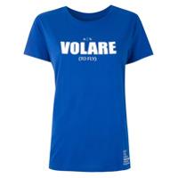 Armani Exchange T-Shirt Volare Estampada - Azul