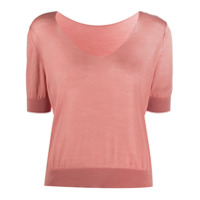 Roberto Collina Knitted Top - Rosa