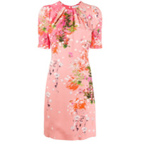 Givenchy Vestido Com Estampa Floral - Rosa
