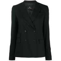 Ps Paul Smith Blazer Com Abotoamento Duplo - Preto