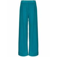 Bondi Born Calça Pantalona Pacific - Azul