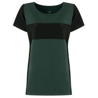 Lauf Br Camiseta Montaria Com Recortes - Verde