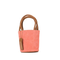 Folkloore Bolsa Bucket Mini - Rosa