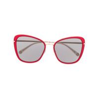 Pomellato Eyewear Armação De Óculos Gatinho - Dourado