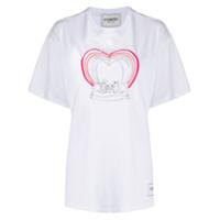 Iceberg Camiseta Oversized Com Estampa Disney - Branco