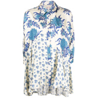 Antonio Marras Blusa Com Estampa Floral - Neutro