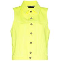Kwaidan Editions Colete Jeans - Amarelo