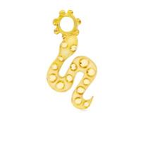 Gaya Pingente De Cobra Em Ouro 18K - Dourado