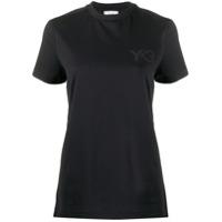 Y-3 Camiseta Decote Redondo - Preto