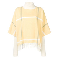 Roksanda Suéter Com Franjas - Amarelo