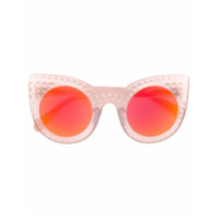Delalle Óculos De Sol 'demilune' - Rosa