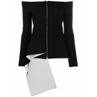 Roland Mouret Blusa Affric Ombro A Ombro - Preto