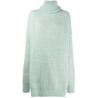 Maison Margiela Suéter Com Recorte - Verde