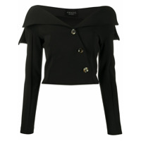 A.w.a.k.e. Mode Off The Shoulder Top - Preto