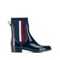 Tommy Hilfiger Ankle Boot Meia - Azul