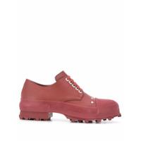 Camperlab Sapato Traktori Com Solado Cravejado - Vermelho
