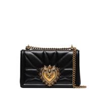 Dolce & Gabbana Bolsa Transversal Devotion Média - Preto