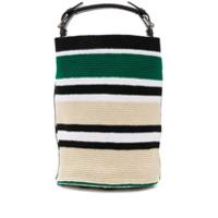 Colville Bolsa Bucket Média Em Forma De Cilindro - Verde