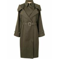 Boyarovskaya Trench Coat Com Cinto - Verde