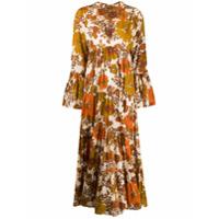 Dodo Bar Or Vestido Longo Luba Com Estampa Floral - Neutro