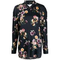 Vivienne Westwood Blusa Cocco Com Estampa Floral - Preto
