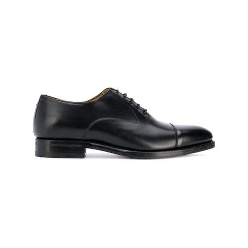 Imagem de Berwick Shoes Sapato Oxford de couro - Preto