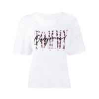 Tommy Jeans Logo T-Shirt - Branco