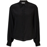 Rockins Camisa De Seda - Preto
