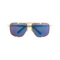 Dita Eyewear Óculos De Sol 'mach Five' - Metálico