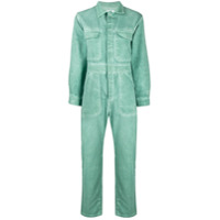 Roseanna Denim Jumpsuit - Verde