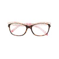 Emilio Pucci Óculos Com Armação Quadrada - Estampado