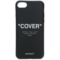 Off-White Capa 'cover' Para Iphone 8 - Preto