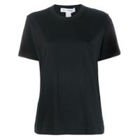 Comme Des Garçons Shirt Camiseta Com Gola Careca - Preto