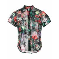 Harvey Faircloth Blusa Com Estampa Floral - Preto