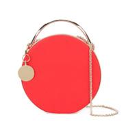 Eddie Borgo Chain Strap Round Clutch - Vermelho