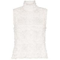Paskal Blusa Translúcida Com Poás - Branco