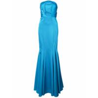 Zac Zac Posen Vestido Longo 'nolita' - Azul