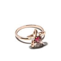 Selim Mouzannar Anel Star De Ouro Rosé 18K Com Diamantes - Rose Gold